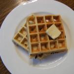 Banana Chocolate Chip Waffles Recipe