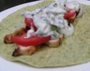 Mediterranean Chicken with Homemade Tzatziki Sauce | ComfortablyDomestic.com