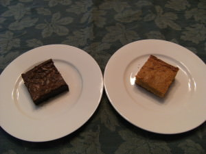 Blondies vs. Brownies: Round 1