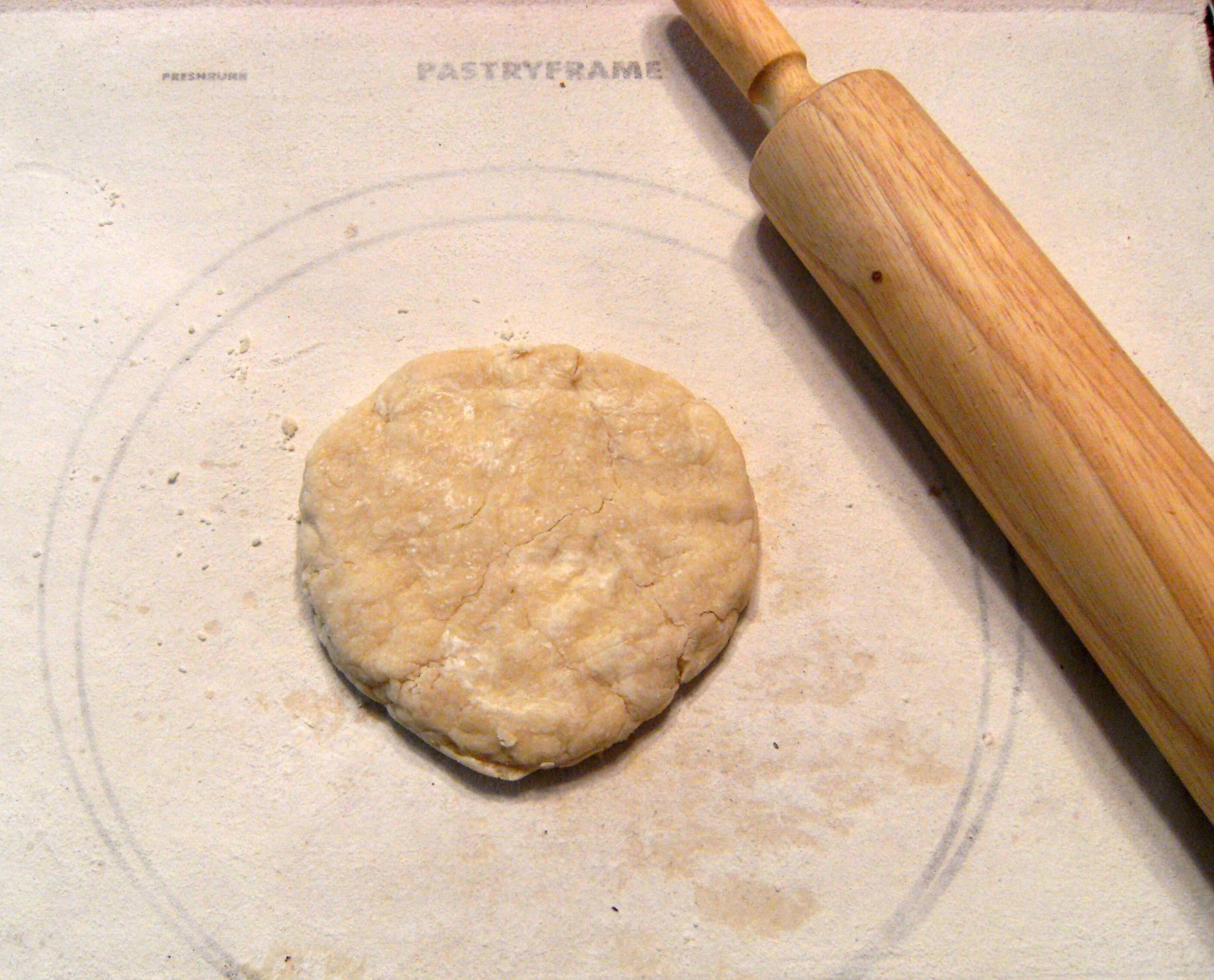 how to make homemade pie crust - step 16
