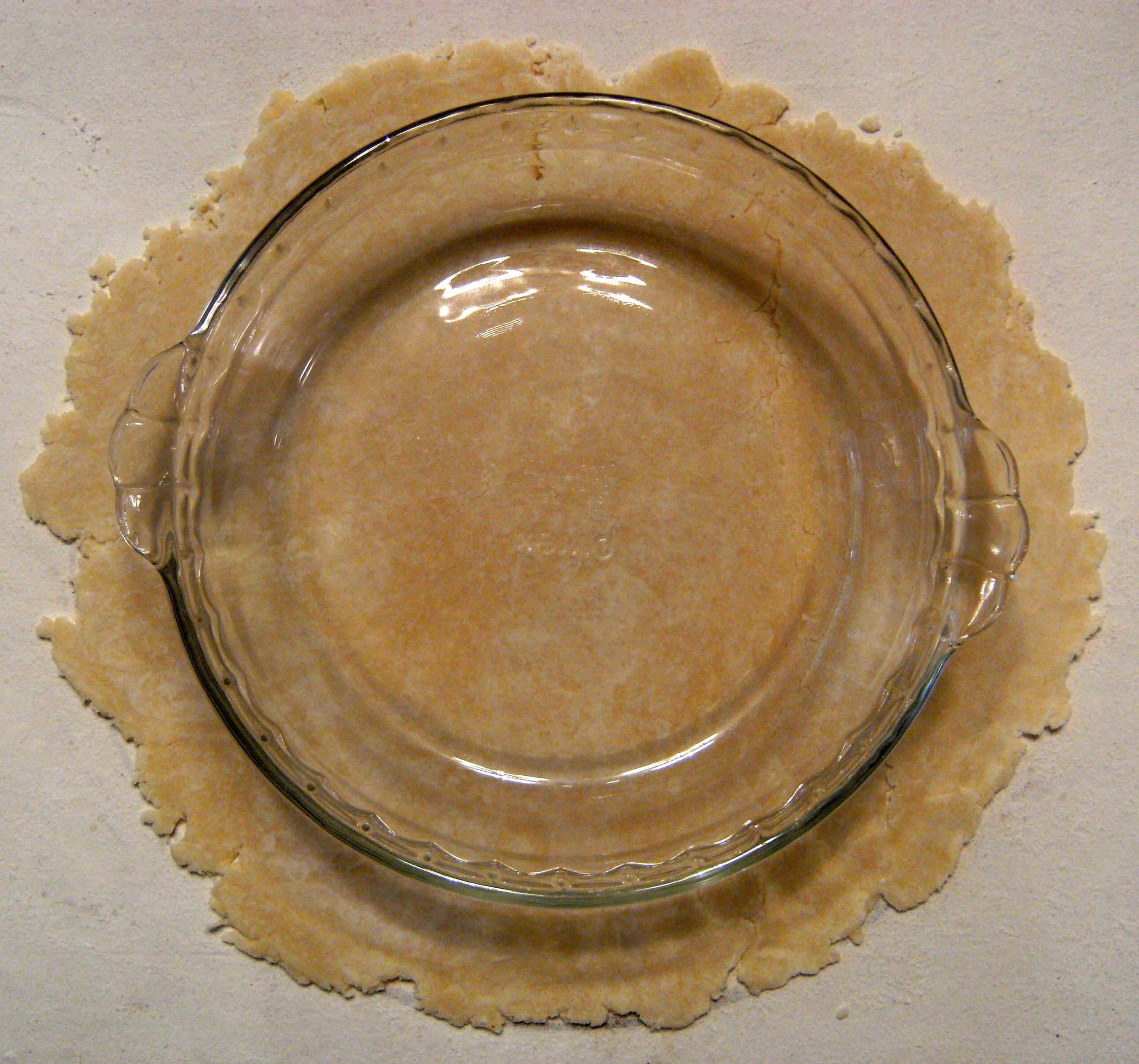 how to make homemade pie crust - step 18