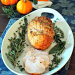 Citrus-herb-roasted-turkey-breast, perfectly tender and juicy... it is guaranteed if you follow this simple recipe method.