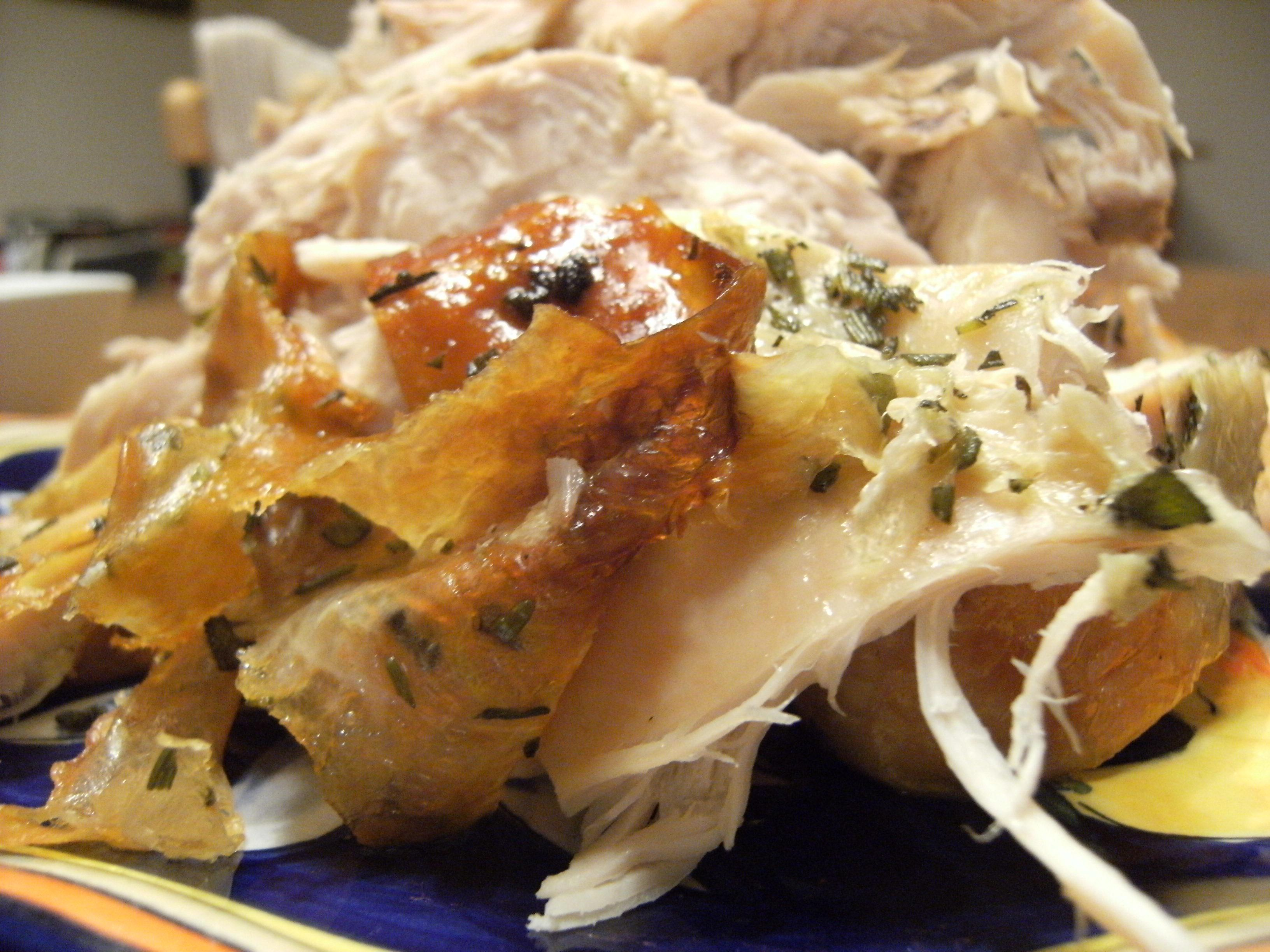 Perfectly Roasted Turkey with Citrus and Herb Butter | ComfortablyDomestic.com