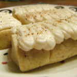 Cookie Week: Egg Nog Logs!