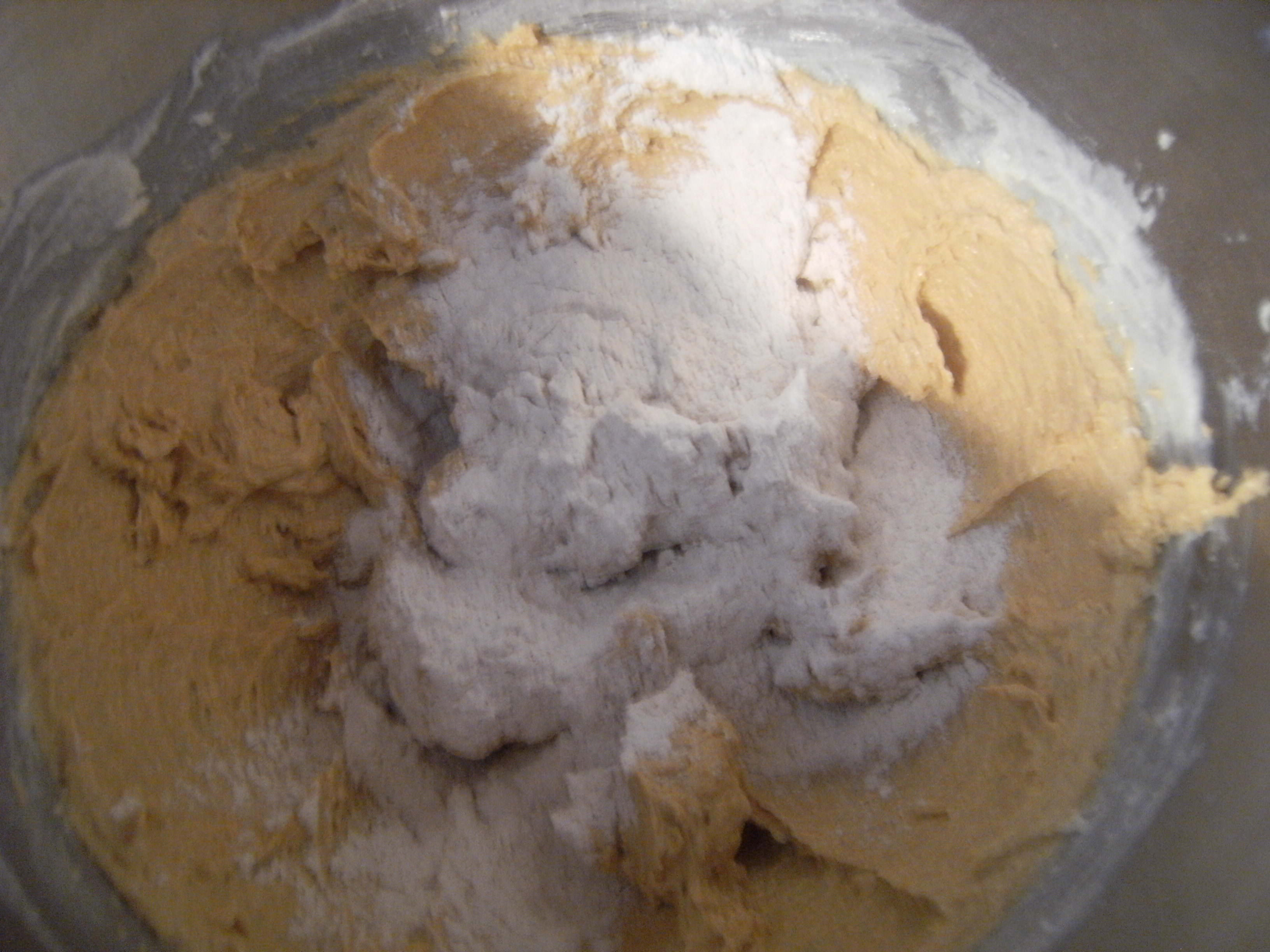 Pfeffernusse cookie dough