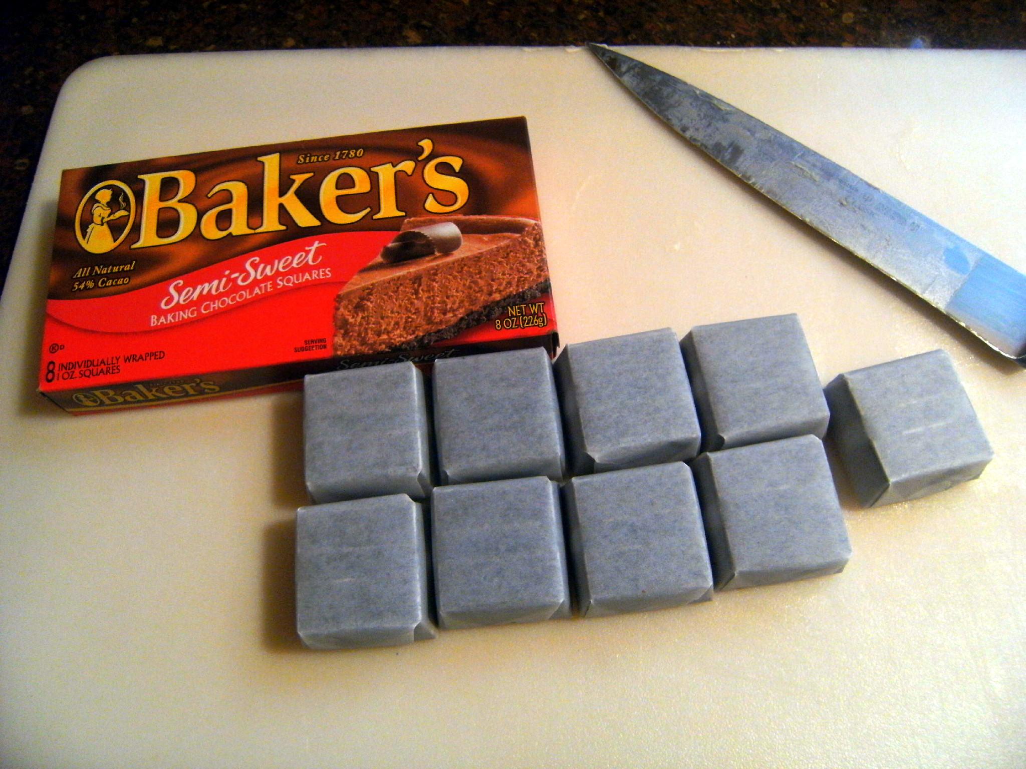 Baker's semi-sweet baking chocolate