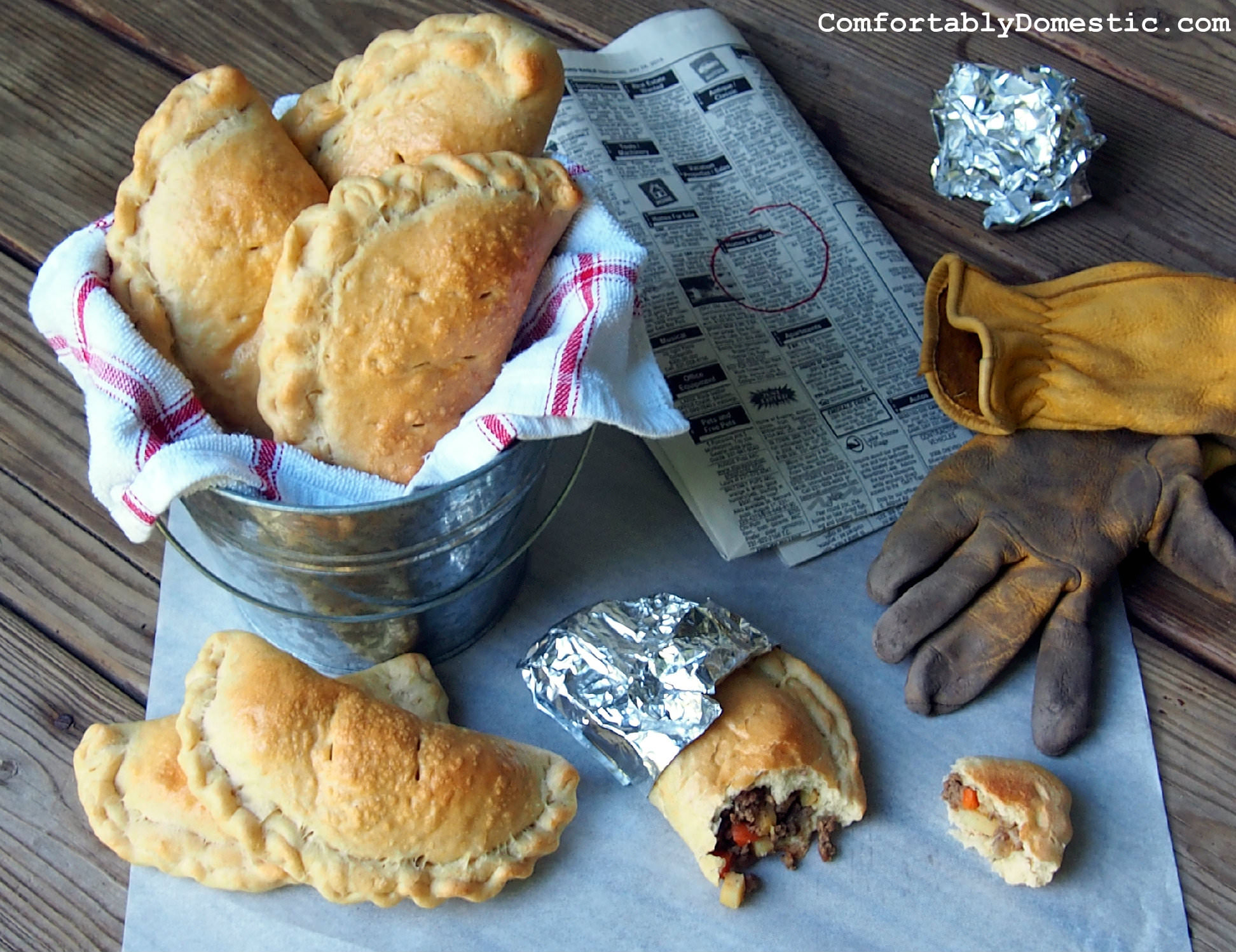 Lower Peninsula Pasty (Meat Pies) | ComfortablyDomestic.com