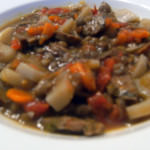Purging the Gluttony: Sausage and Lentil Stew