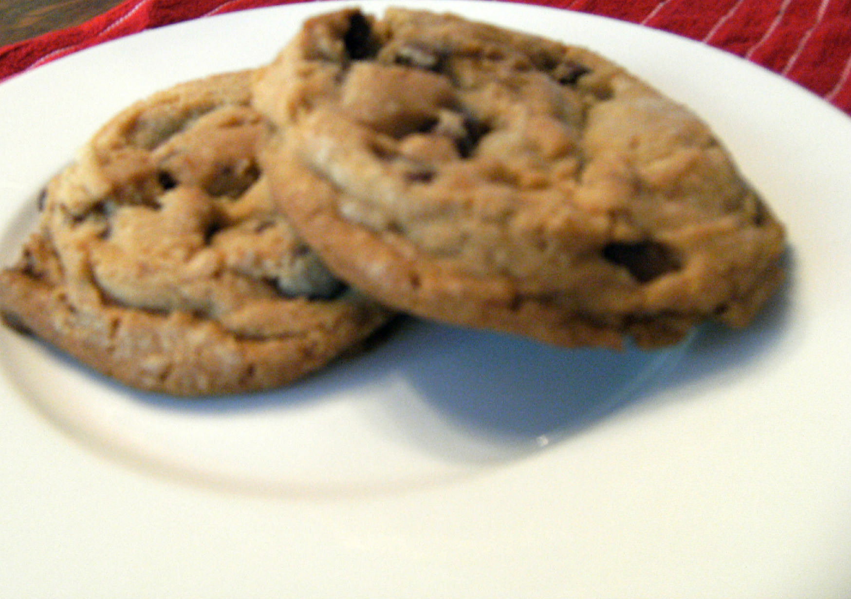 Dark Chocolate Chip Cookies With Just a Hint of Orange ...