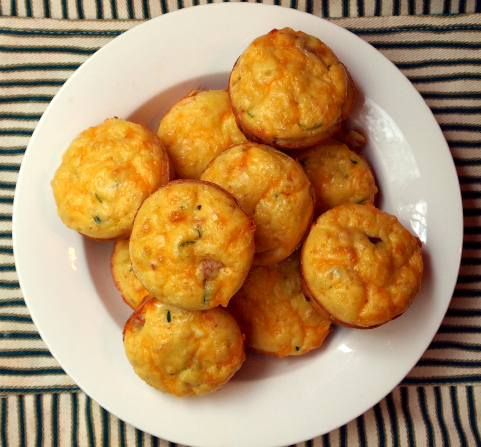 Omelette Muffins from ComfortablyDomestic.com