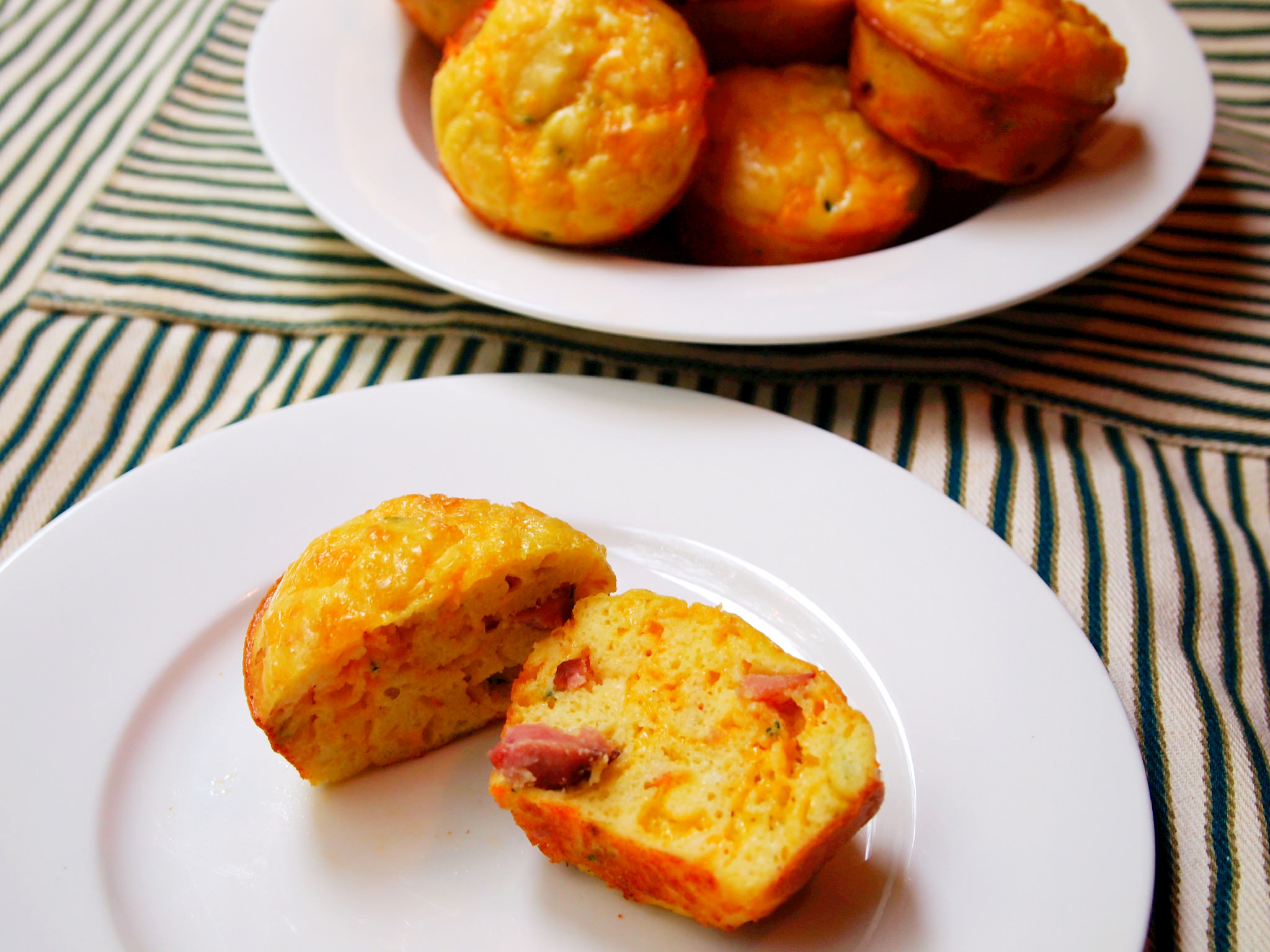Omelette Muffins - Get the recipe from ComfortablyDomestic.com