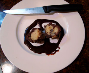 Chocolate Chip Cookie Dough Truffles, Randoms, and a Quickie