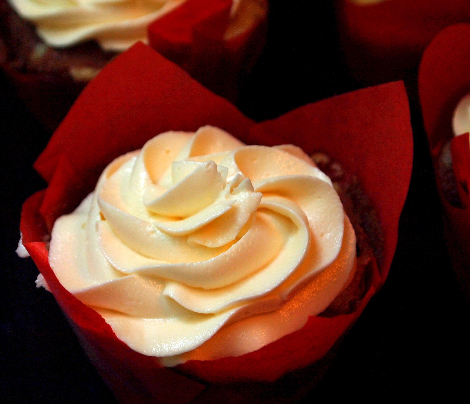 White Chocolate Buttercream Roses