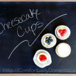 Hooray for Little Indulgences: Cheesecake Cups