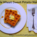 Thanksgiving Leftover Idea: Whole Wheat Sweet Potato Waffles