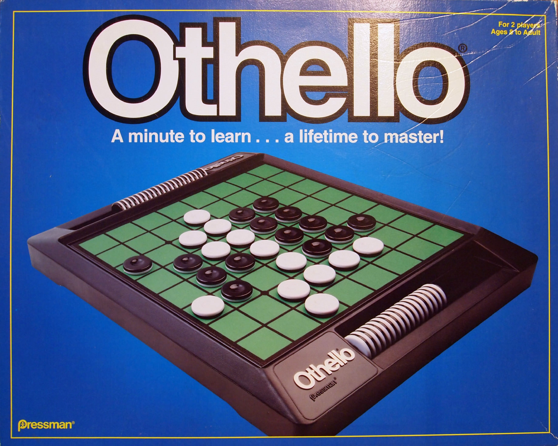 Othello reversi strategy game