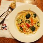 Go-To Dinners: Freestyle Pasta Primavera.