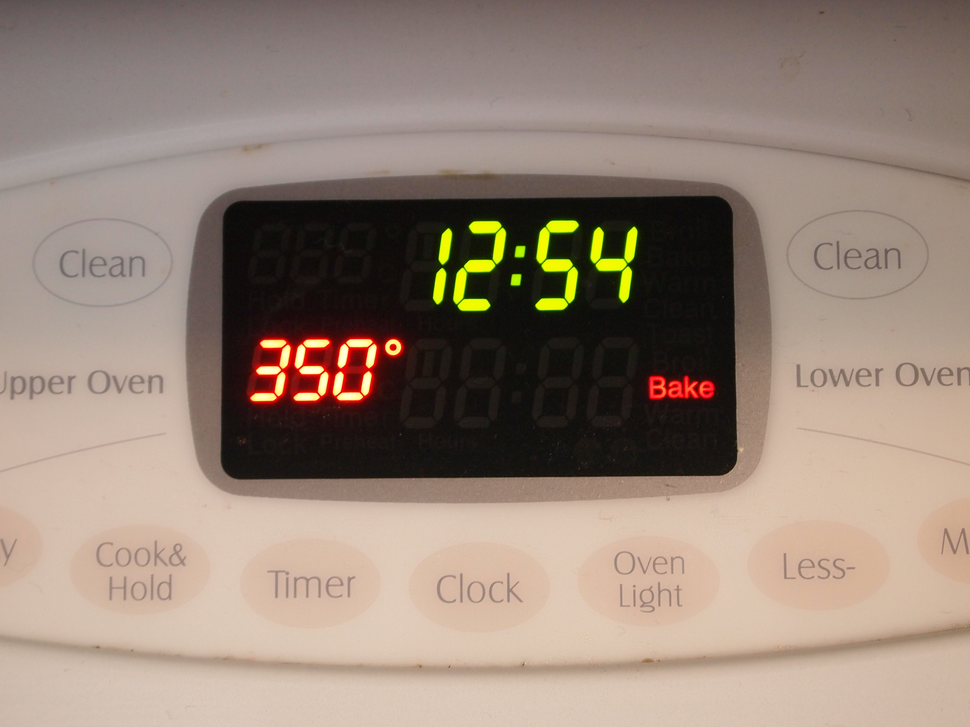 Preheat oven to 350 degrees meaning