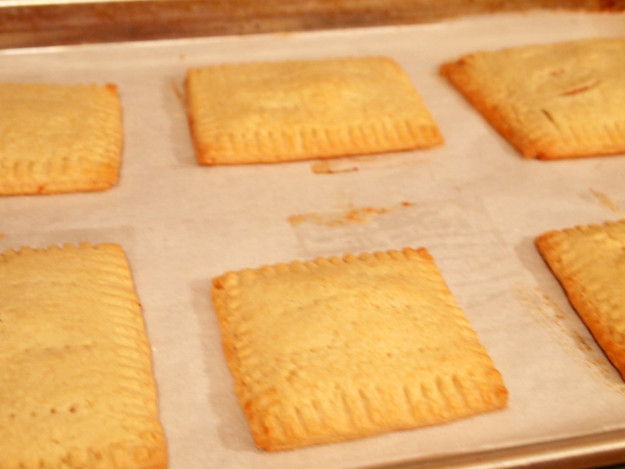 Homemade Strawberry Toaster Pies are a homemade version of strawberry Poptarts! You'll LOVE this recipe! | ComfortablyDomestic.com