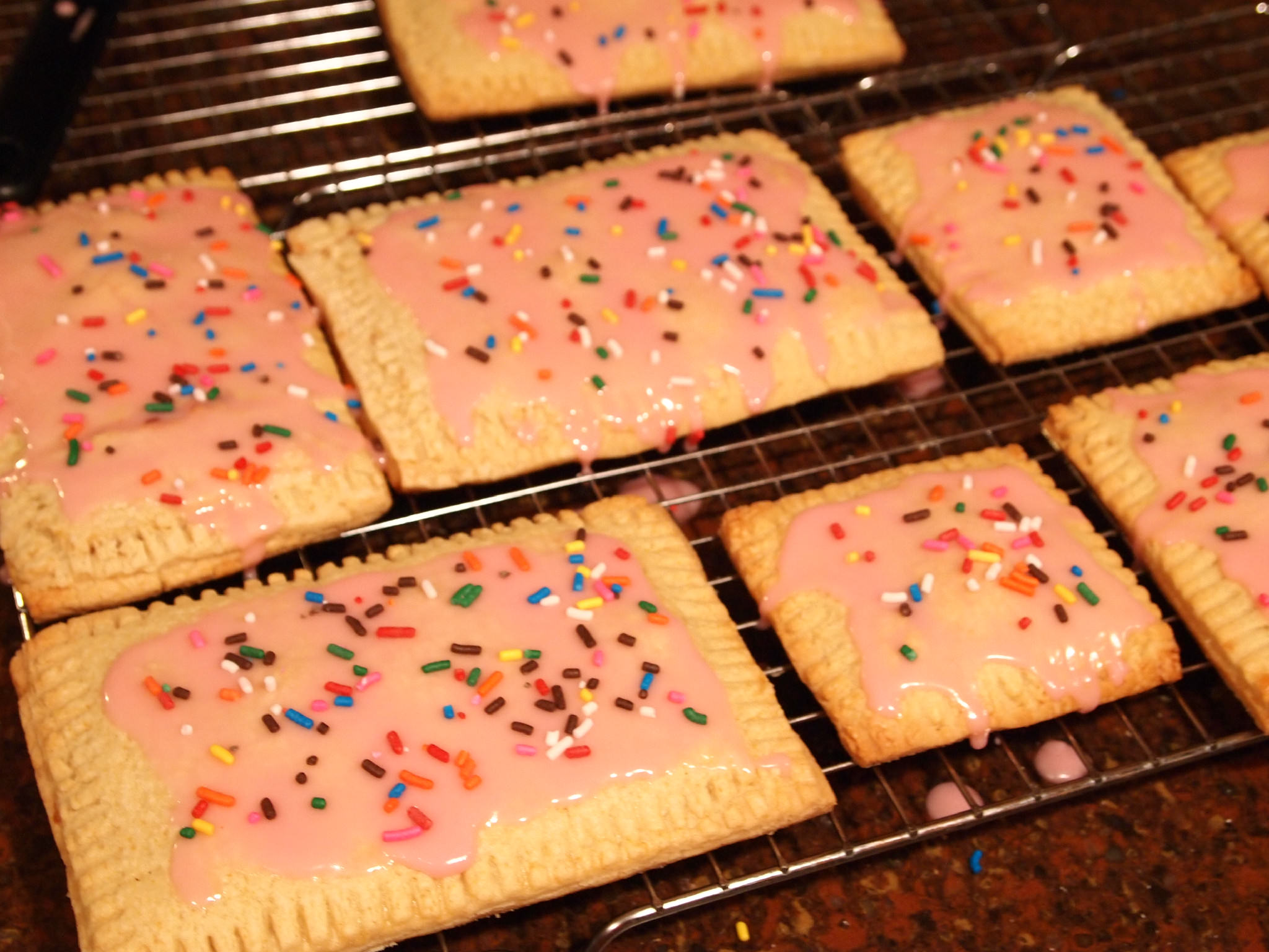 Homemade Strawberry Toaster Pastries are a homemade version of strawberry Poptarts! You'll LOVE this recipe! | ComfortablyDomestic.com