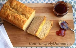 Honey Wheat English Muffin Bread