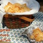 Gingered Apricot Hand Pies