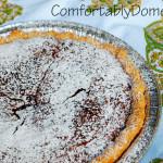 Easy Fudge Brownie Pie