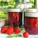 Strawberry-Basil Jam {No Sugar Added}