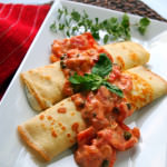 Tuscan Crepes Recipe {Crepes Week Kick-off}
