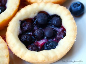 When Life Gives You Blueberries, Make Blueberry Shortbread Pies