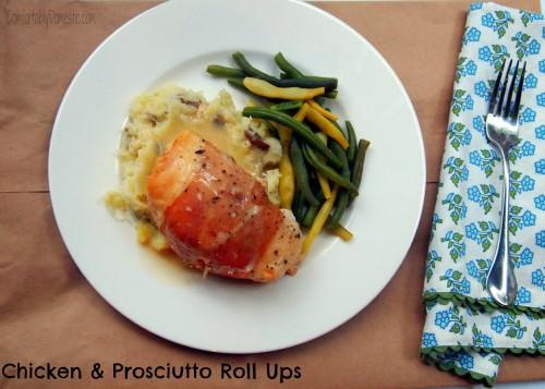 Crock Pot Love: Chicken and Prosciutto Roll Ups