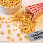 Christmas Traditions: Vanilla Caramel Corn