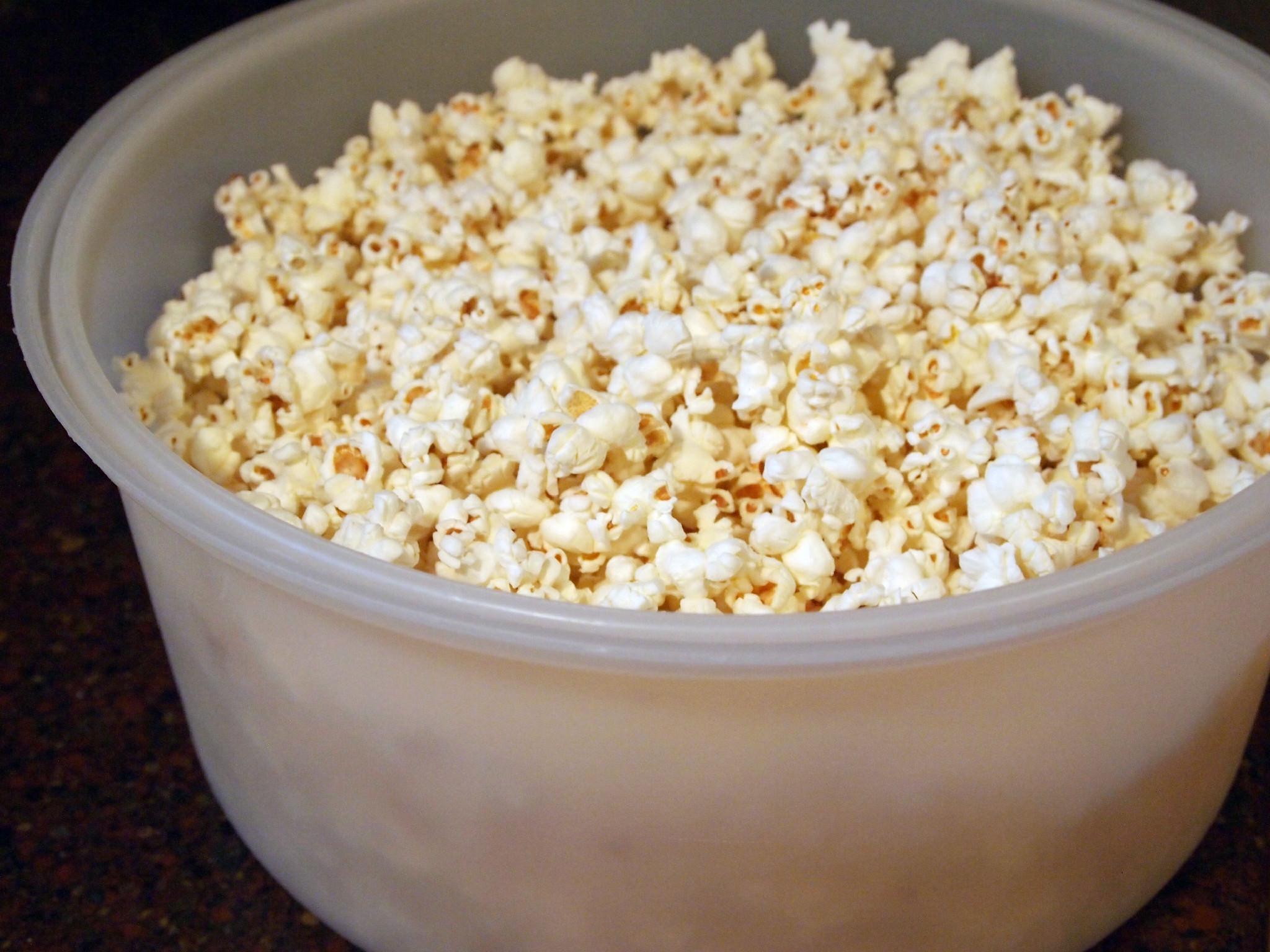 whole lot o' popcorn