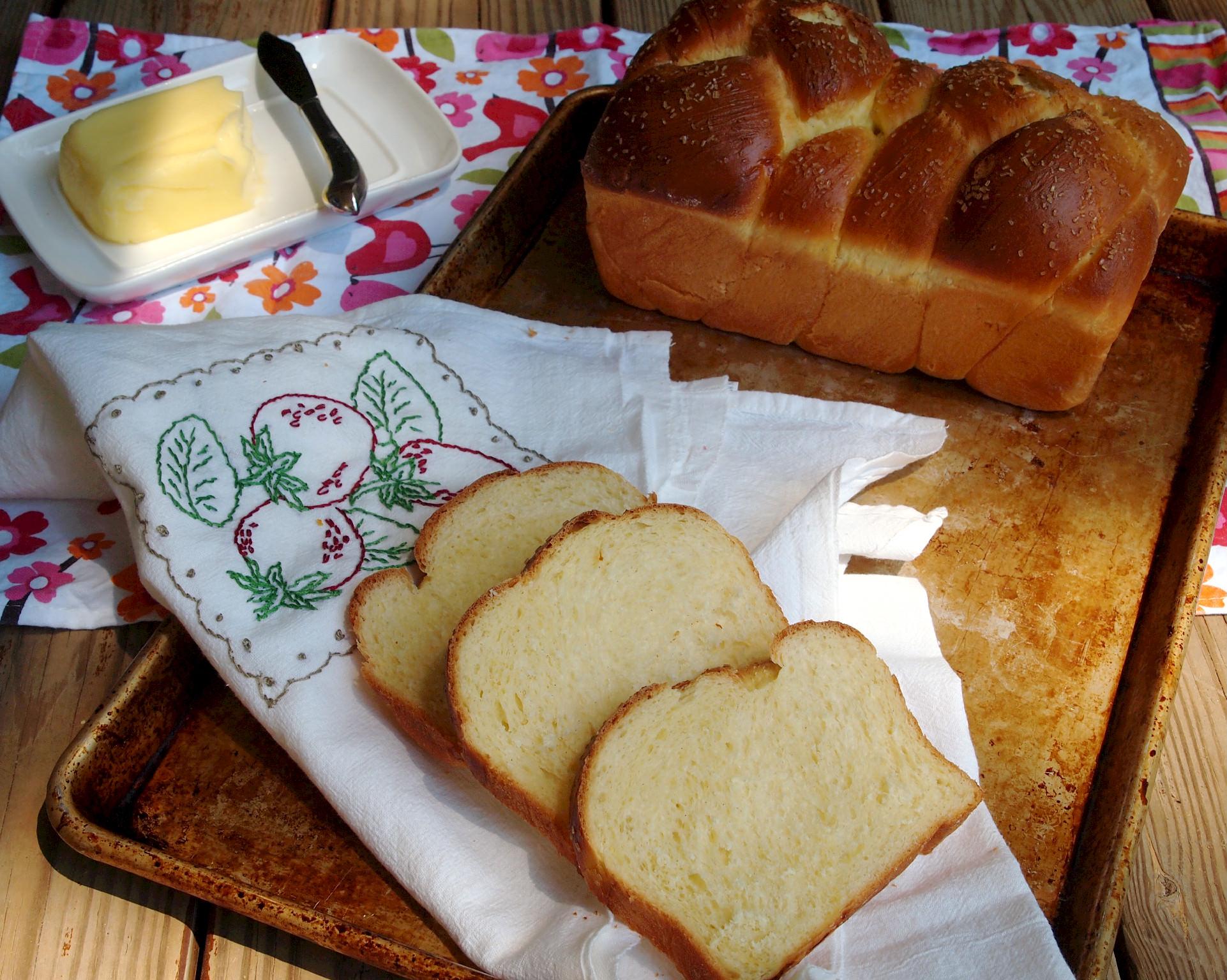 Braided Cardamom Bread via ComfortablyDomestic.com