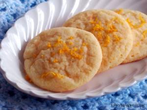 Chewy Lemon Doodle Cookies
