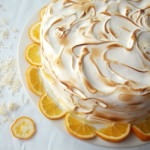 More Than the Adversity That Makes it Memorable: Coconut Meyer Lemon Meringue Cake