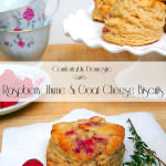 Tuesdays with Joy: Raspberry, Thyme and Goat Cheese Biscuits