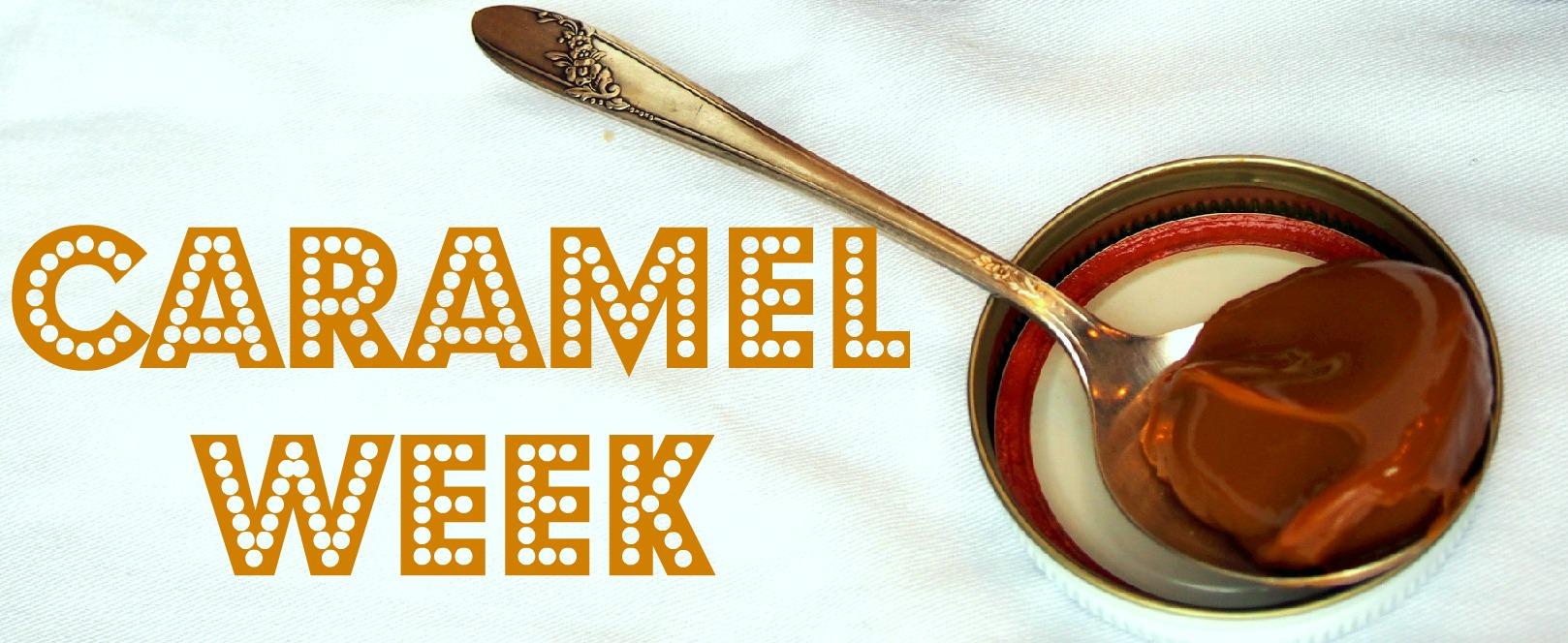 Caramel Week Kickoff Logo