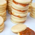 Alfajores {Caramel Shortbread Sandwich Cookies}