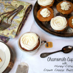 Sundays with Joy: Chamomile Cupcakes with Honey-Citrus Cream Cheese Buttercream