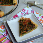 Community Supported Agriculture (CSA) Recipes: Fresh Spinach Tart