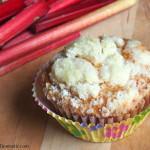 Fresh Rhubarb Crumb Muffins {CSA Recipe}