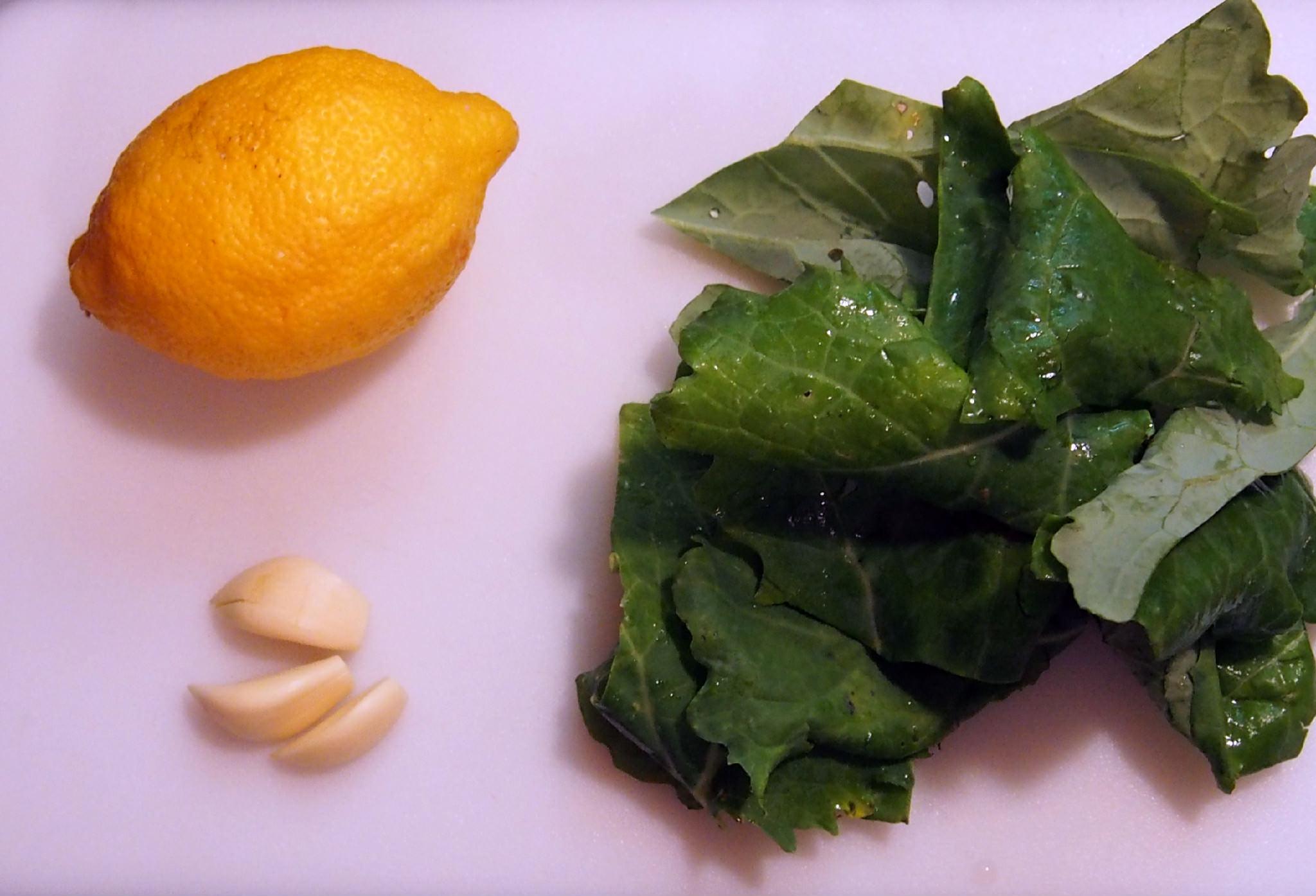 Lemon Garlic Linguine Cast
