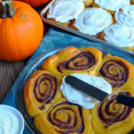 Pumpkin Cinnamon Rolls {Pumpkin Week Kick-off}