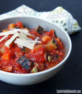 Homemade Ratatouille (Vegetable Stew) – 3 Ways!