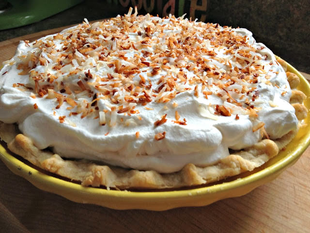 Coconut Cream Pie from Haley - The Girly Girl Cooks