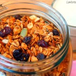 Nut Free Protein Granola {Healthy Recipe}