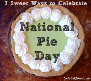 {Recipe Round-Up} 7 Sweet Ways to Celebrate National Pie Day