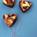 Giving the Gift of Love: a Strawberry Cream Cheese Brownie Recipe.