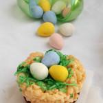 Just for Fun: Cadbury Krispie Bird's Nest Cookies